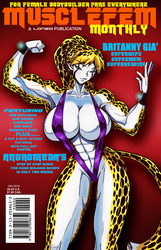 Brit's Musclefem cover by Lonzo1