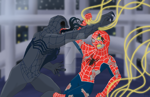 Spider man 3 - Eyeless Jack vs The Puppeteer by Elmer157Typhlosion