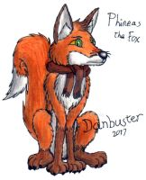 Phineas the Fox by DCLeadboot