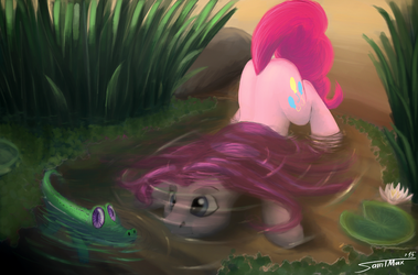 Water Exercise by Sa1ntMax
