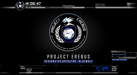 Project Erebus: Modern Warfare Rainmeter GUI by BlueWolf-Productions