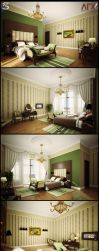 villa F.int.Bedroom by pitposum