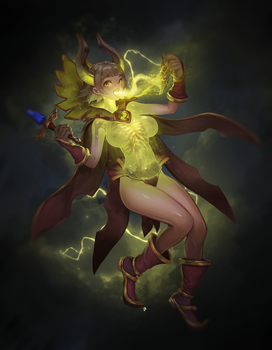 Pugna Girl by InstantIP
