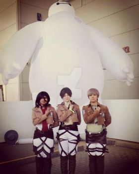 Attack On Baymax! by AgentKikaeSinclair