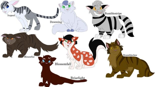 More Cat Designs by Zee-Stitch
