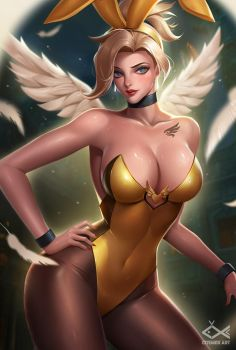 BUNNY MERCY by citemer