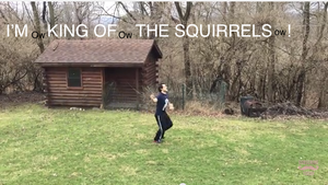 Mark is king of the squirrels! by EETay99