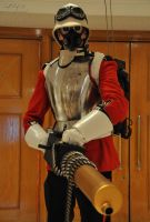 Steampunk Soldier - Armoured Fury by Leadmill