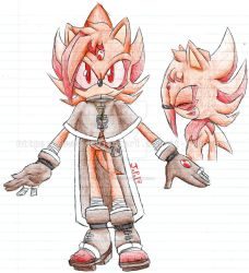 Fire The Hedgehog (Redesign) by it-s-no-use