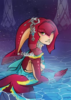 Mipha by Natachouille