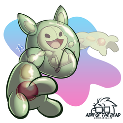 #PokeMonday - Reuniclus by AdriOfTheDead