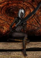 Drow Scout by Direwrath