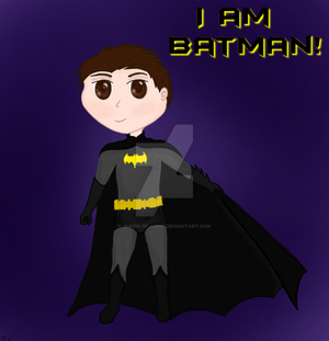 I am Batman! by Queen-of-Ice101