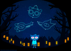 Night In The Woods by watermelonium