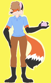 New TTK Character: Logan by CottonCatTailToony