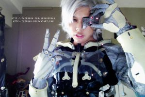 TESTING - White Raiden WIP by keruuu