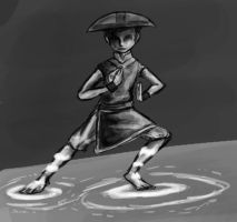 Aang in TophVision by KimchiCrusader