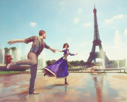 My heart belongs to daddy (and Paris) by Lysa-Bell