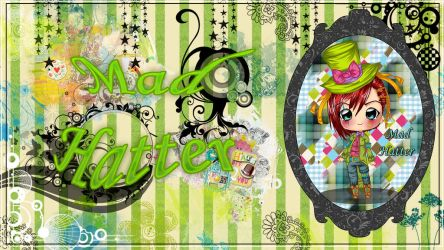 Mad Hatter wallpaper by StrawberryCakeBunny