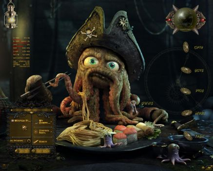 Davy Jones by scubabliss