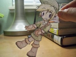 Paper Child Link by Zogiru