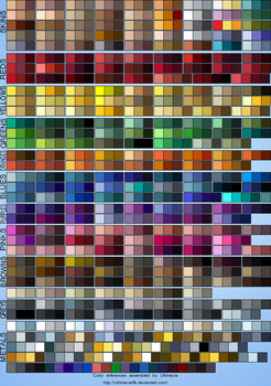 Color References 2 by UltimeciaFFB