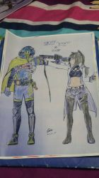 RWBY(Blake Belladonna)xEX-AID(Sinpe)full colored by MRNEWMIND2007