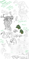 Doodledump May - August 2011 by SaritaWolff