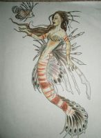 Lionfish Mermaid by LinsCatMeow