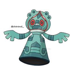 Bronzong evolution (commission) by Charenel