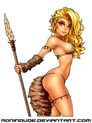 Cave Elf 1 by RoninDude