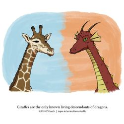 A Fantastically False Fact About Giraffes by Zombie-Kawakami