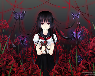 Collaboration: Hell Girl by Rurutia8