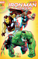 The Avengers by Humberto Ramos in 3D Anaglyph by xmancyclops