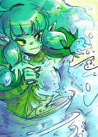 Watery Transformation by Naritta