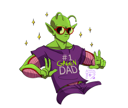#1 Green Dad!!! by TheatricalPlacenta