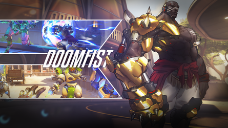 Doomfist-Wallpaper-2560x1440 by PT-Desu