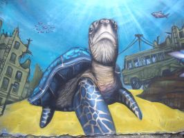 turtle by TesdA