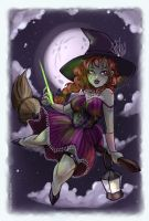 Cast a Spell On You Pinup by thedandmom