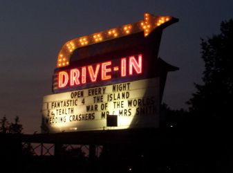 Drive in in Buffalo by timid-wolf