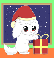 A puppy's Christmas by pichu90
