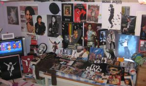 My Michael Jackson stuff by katjakettu