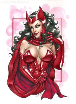 Scarlet Witch by Claudia-SG