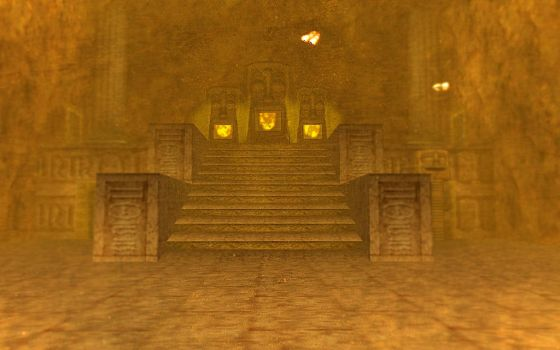 Fire Temple Entrance by SoColdArtwork