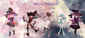 LAHTI AND ALI COLLAB: HALLOWITCHES - OPEN! AB ADD! by alpacasovereign