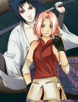 SasuSaku by DarkSetoOfHate