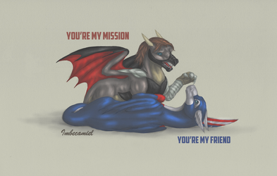 You're My Friend by Imbecamiel