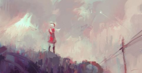 Dreams from the Junkyard (Original) by Alex-Chow