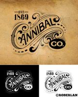 Cannibal Co Vintage Logo by roberlan
