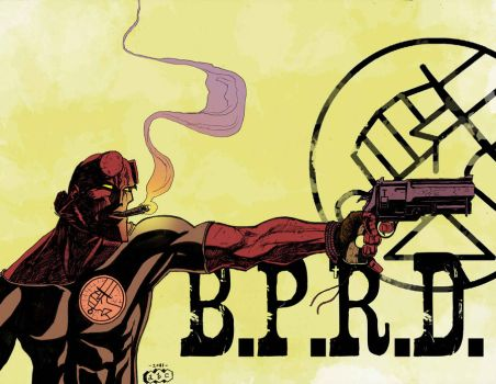 Hellboy and the BPRD by acarabet